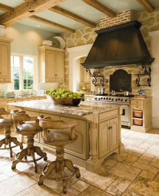 Old-french-country-kichen-style